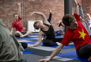 Pilates & Yoga classes in inspiring places
